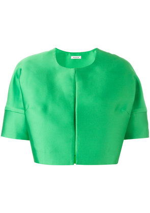 P.A.R.O.S.H. short sleeved crop length jacket - Green
