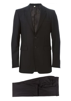 Burberry Modern Fit Wool Suit - Black