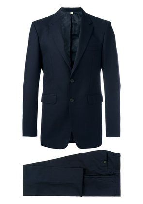Burberry Modern Fit Wool Suit - Blue