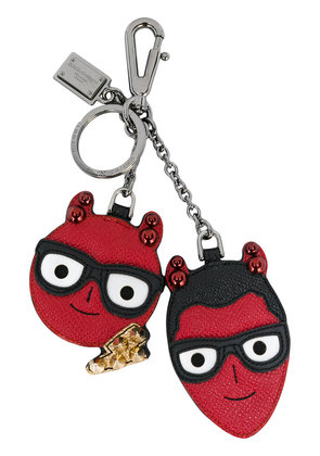 Dolce & Gabbana devil face keyring - Red