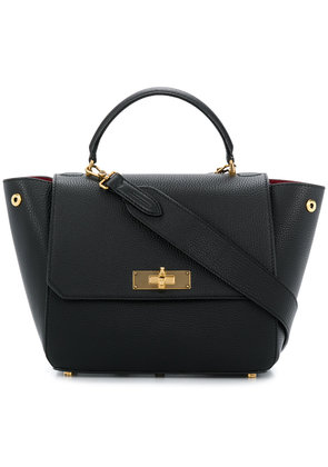 Bally foldover top tote bag - Black
