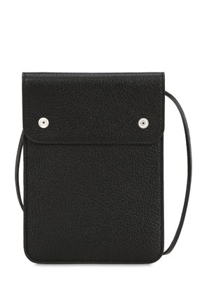 LEATHER POUCH WITH STRAP