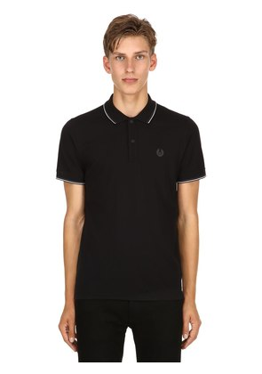 LOGO COTTON PIQUÉ POLO SHIRT