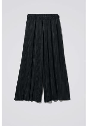Wassily Pleat Trousers - Black