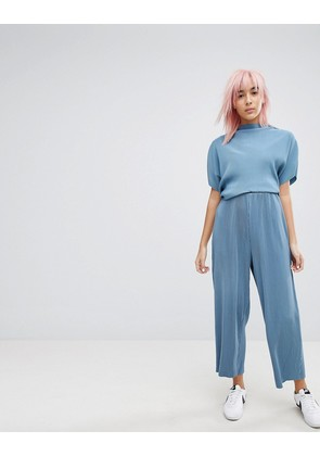 Weekday Pleated Co Ord Trouser - Dove blue