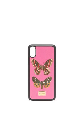 Butterfly-print iPhone® X case