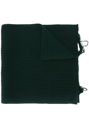 Maison Margiela knitted scarf - Green