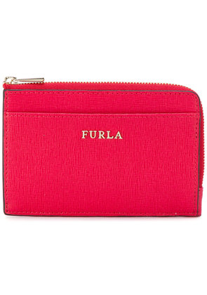 Furla small zip purse - Pink & Purple