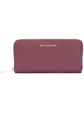 Michael Michael Kors 'Jet Set Travel' continental wallet - Pink &
