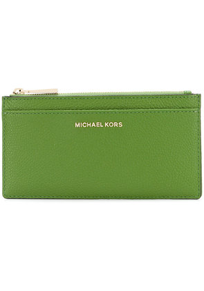 Michael Michael Kors Mercer continental wallet - Green