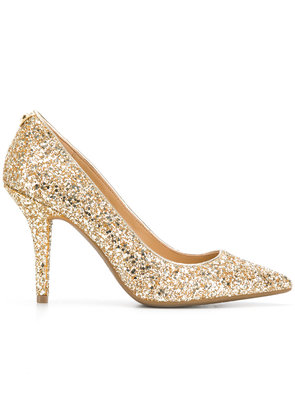 Michael Michael Kors glitter pointed toe pumps - Metallic