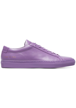 Common Projects purple Achilles leather sneakers - Pink & Purple