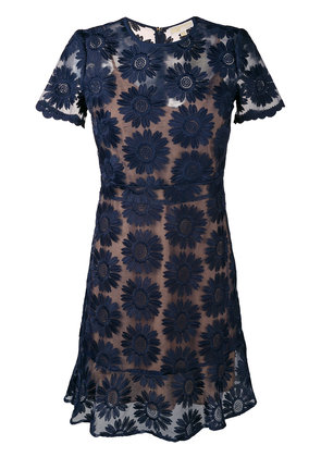 Michael Michael Kors floral pattern short dress - Blue