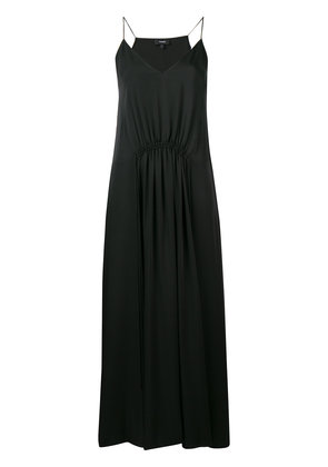 Theory relaxed maxi dress - Black