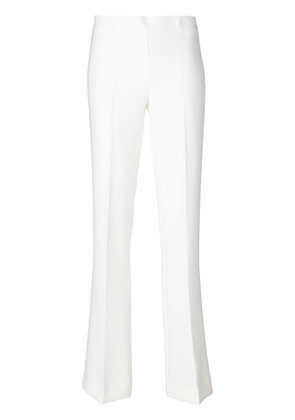 P.A.R.O.S.H. flared trousers - White