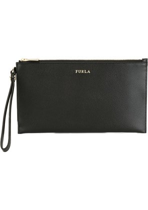 Furla Babylon large clutch - Black