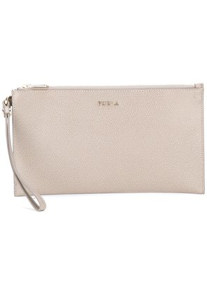 Furla 'Babylon' clutch - Grey