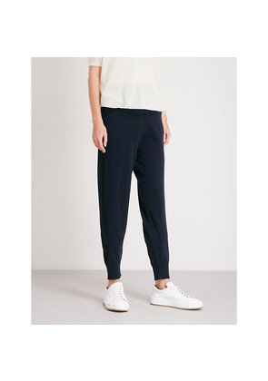 Relaxed-fit cashmere jogging bottoms