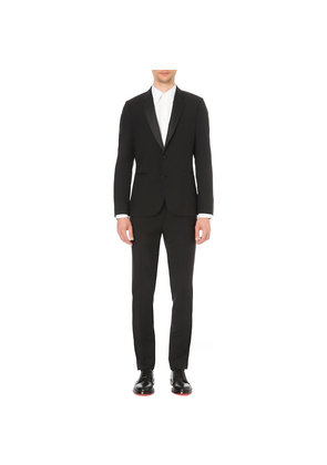 Paul Smith Soho-fit wool and mohair-blend evening suit, Mens, Size: 36R, Black