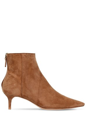 50MM KITTIE SUEDE ANKLE BOOTS