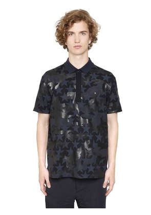 CAMUSTARS COTTON PIQUET POLO SHIRT