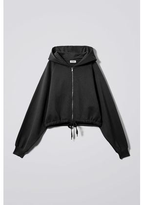 Center Zip Sweatshirt - Black