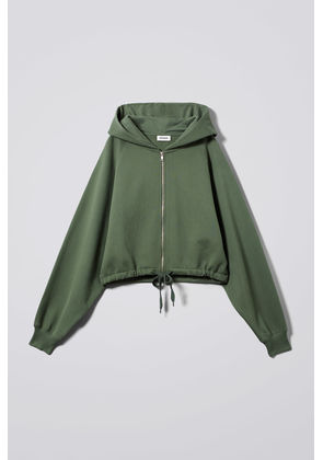 Center Zip Sweatshirt - Green