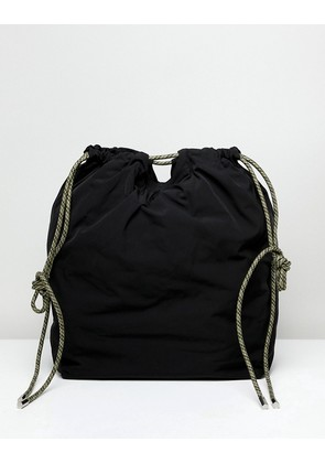 Weekday Toggle Tote Bag - Black