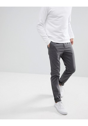 Weekday Wood Chinos Grey - Grey