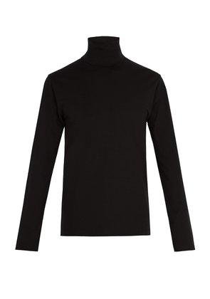 Roll-neck top