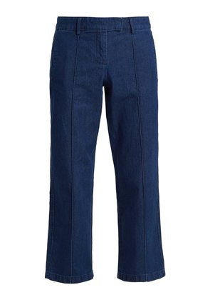 Cooper cotton pintuck jeans