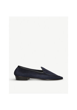 Sagan suede classic loafers