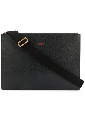 Gucci logo laptop bag - Black