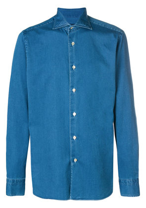 Borriello denim button-down shirt - Blue