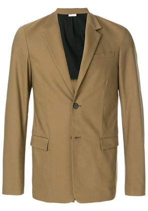 Jil Sander single breasted blazer - Green