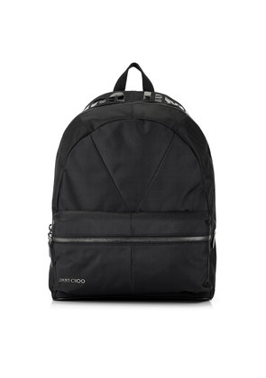 REED Black Canvas Backpack