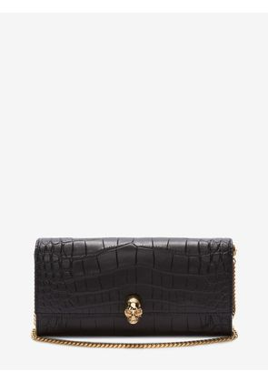 ALEXANDER MCQUEEN Wallets with chain - Item 45407620