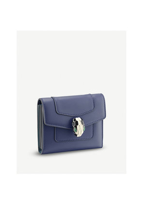 Serpenti Forever leather card holder