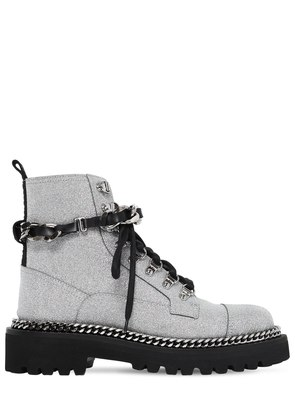40MM ARMY GLITTERED COMBAT BOOTS
