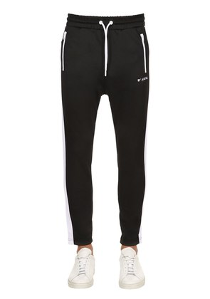 SIDE BANDS TECHNO TRACK PANTS