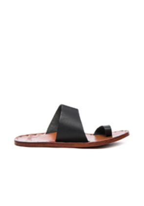 Beek Leather Finch Sandals in Black