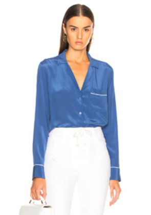 Equipment Keira Blouse in Blue