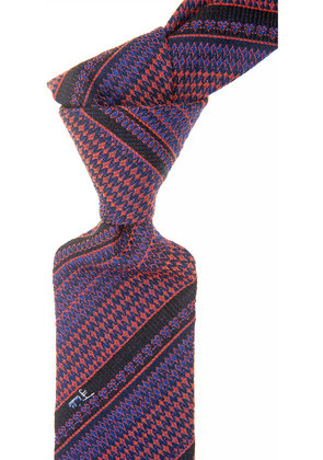 Emilio Pucci Ties On Sale, Bright Violet Blue, Wool, 2017