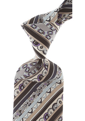 Emilio Pucci Ties On Sale, Dimgray, Silk, 2017