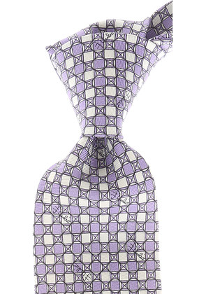 Emilio Pucci Ties On Sale, Lilac, Silk, 2017
