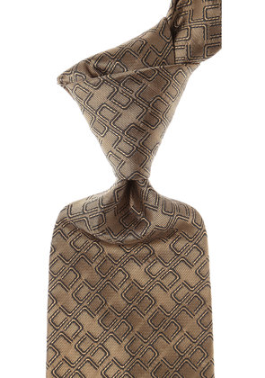 Christian Lacroix Ties On Sale, Taupe, Silk, 2017