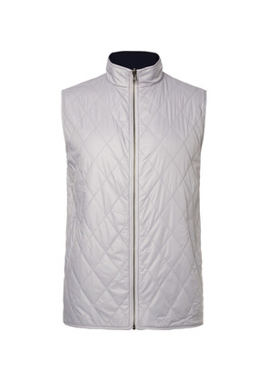 Fraser Reversible Quilted Shell And Wool Golf Gilet
