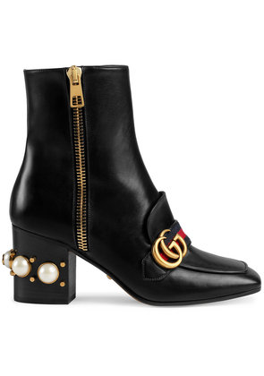 Gucci Mid-heel ankle boots - Black