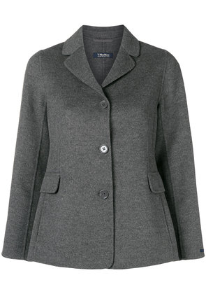 'S Max Mara buttoned up fitted jacket - Grey