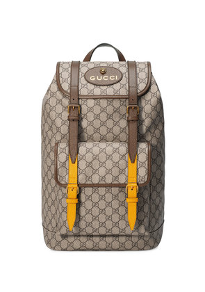 Gucci Soft GG Supreme backpack - Nude & Neutrals
